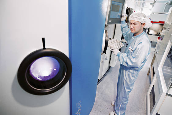 APS system for ambitious coatings
